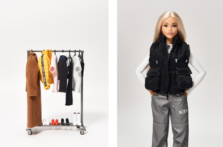 KITH Women x Barbie – коллаборация в честь 60-летия куклы
