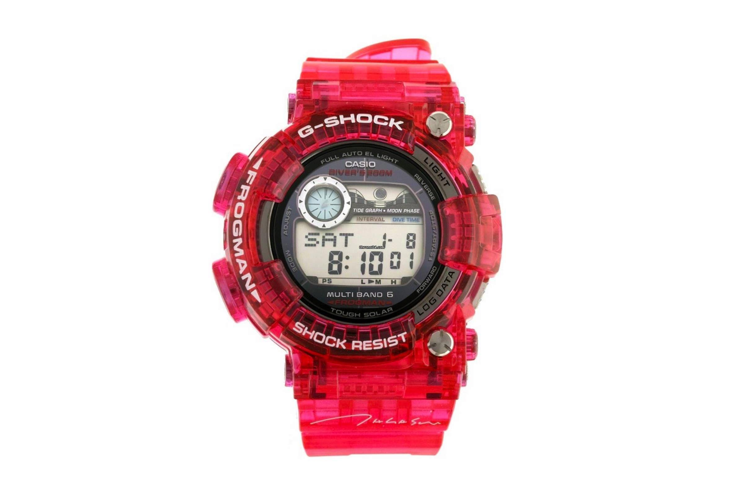 Takashi Murakami x Casio G-Shock Frogman GWF-1000TM-4JR — Лучшие мужские часы — Молодежный Центр