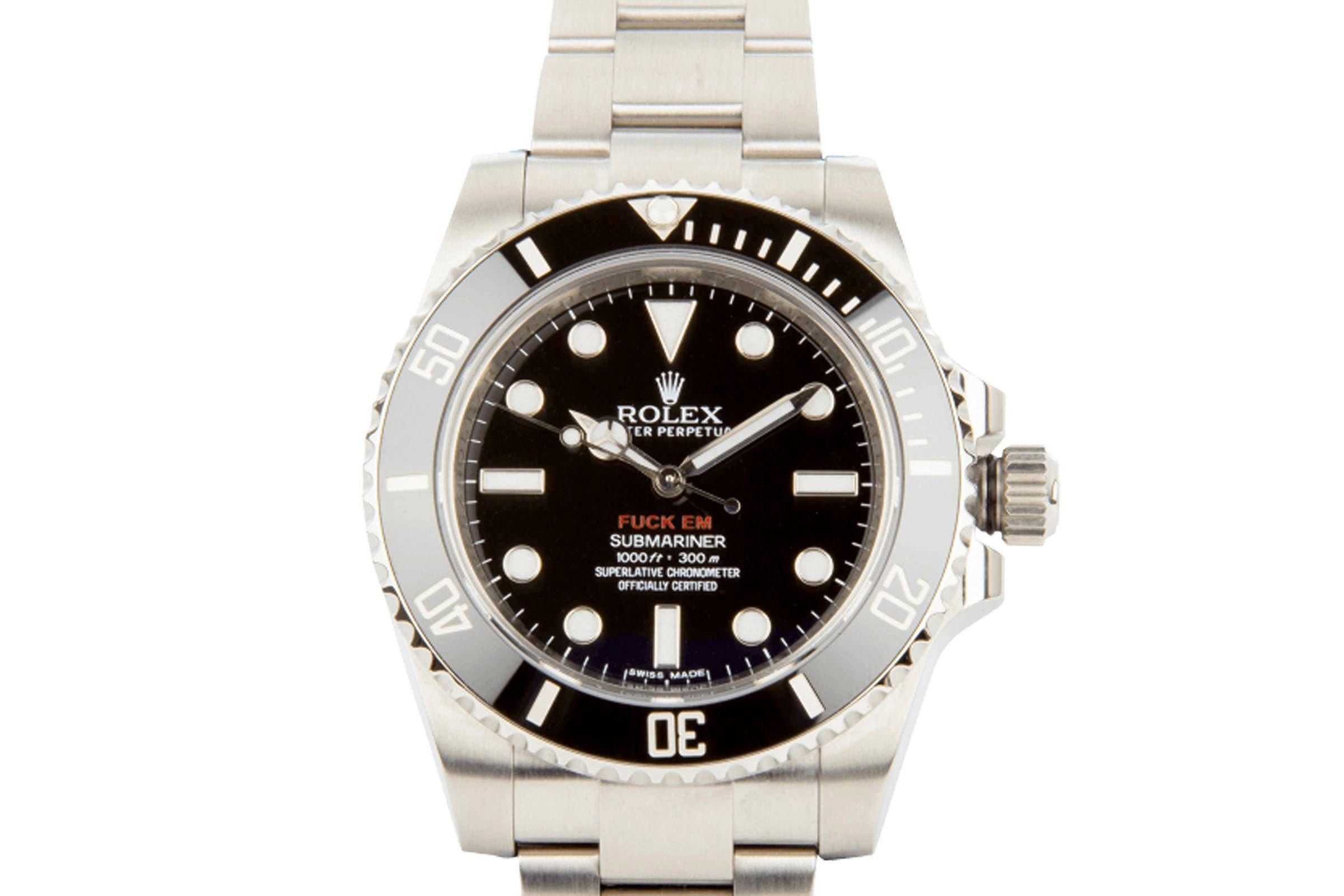 Supreme x Rolex Submariner — Лучшие мужские часы — Молодежный Центр