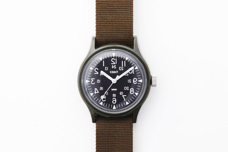 Engineered Garments x Beams x Timex Watch — Лучшие мужские часы — Молодежный Центр