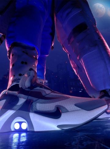Nike Adapt Huarache – новые кроссовки с автоматической шнуровкой