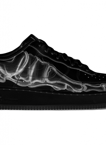 Nike Air Force 1 «Black Skeleton» выйдут в преддверии Хэллоуина