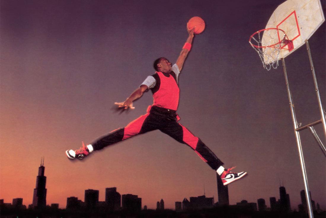 Jumpman — Прыжок Майкла Джордана
