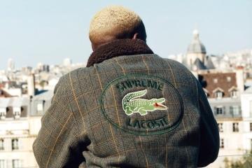 Supreme x Lacoste – третья совместная коллекция брендов