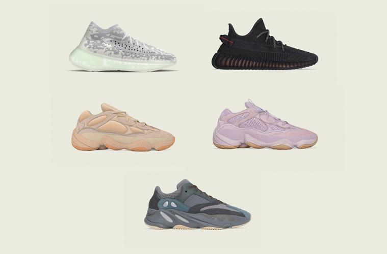 adidas Yeezy — все релизы, запланированные на ноябрь 2019 года