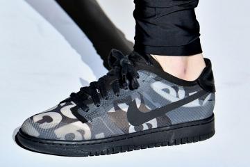 COMME des GARÇONS x Nike Dunk Low - первый взгляд