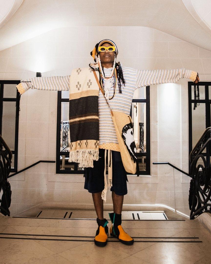 A$AP Rocky стал лицом коллекции Loewe Paula's Ibiza