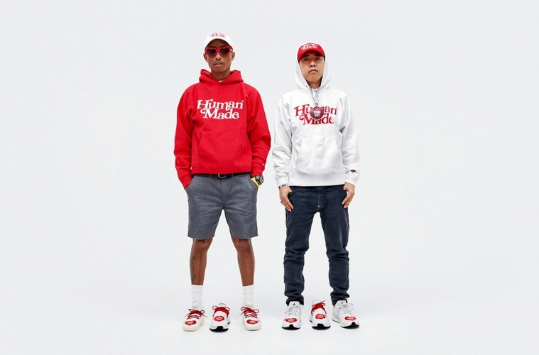 Human Made x adidas «Love» - детали коллекции Фаррелла и Nigo