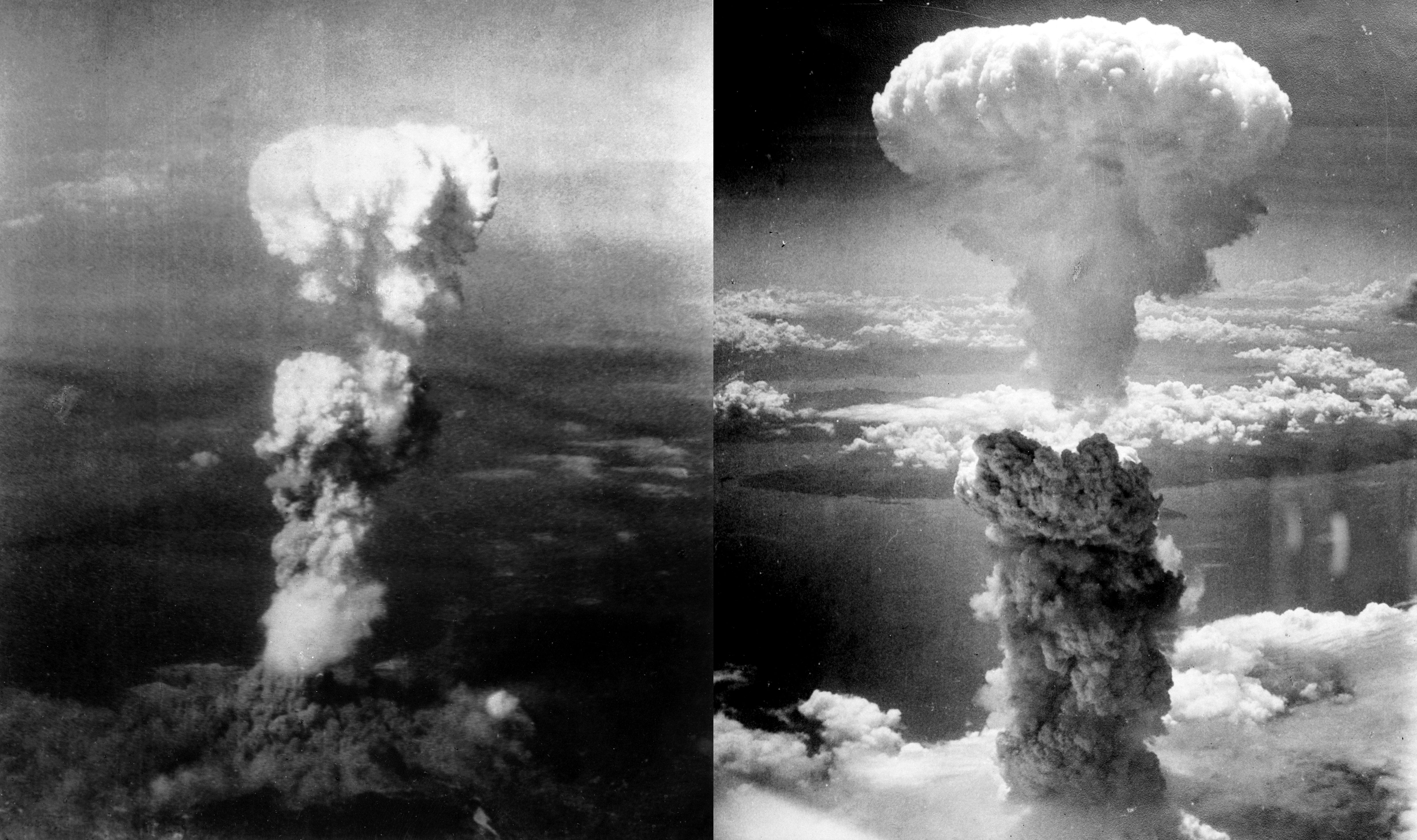 Атомные бомбардировки Хиросимы и Нагасаки,1945