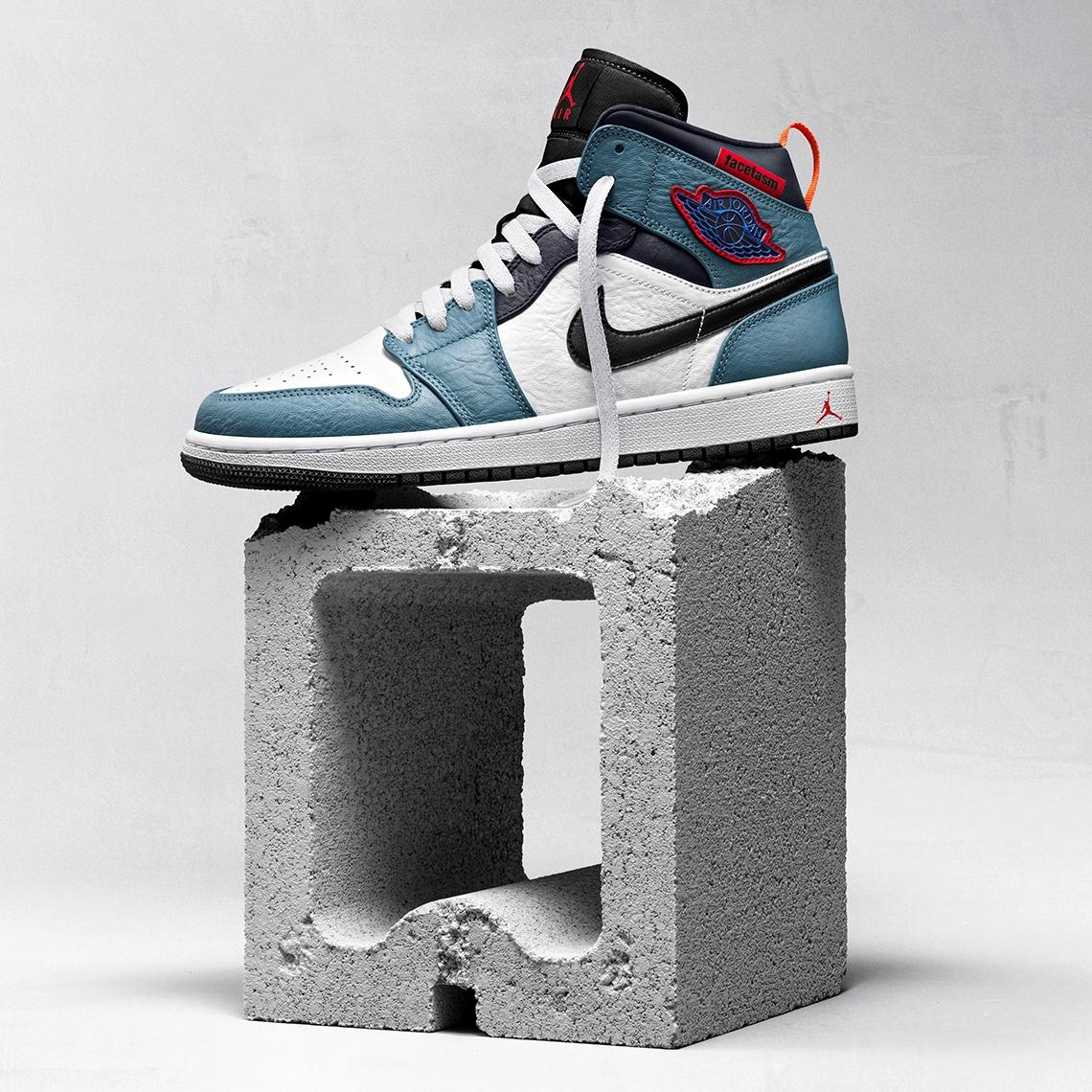 Facetasm x Air Jordan 1 Mid