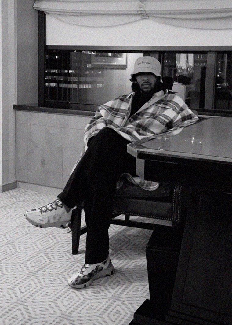 Кендрик Ламар показал Kendrick Lamar x Nike React Element 55