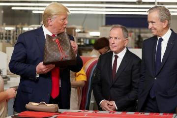 Louis Vuitton и Дональд Трамп открыли новую фабрику в Техасе