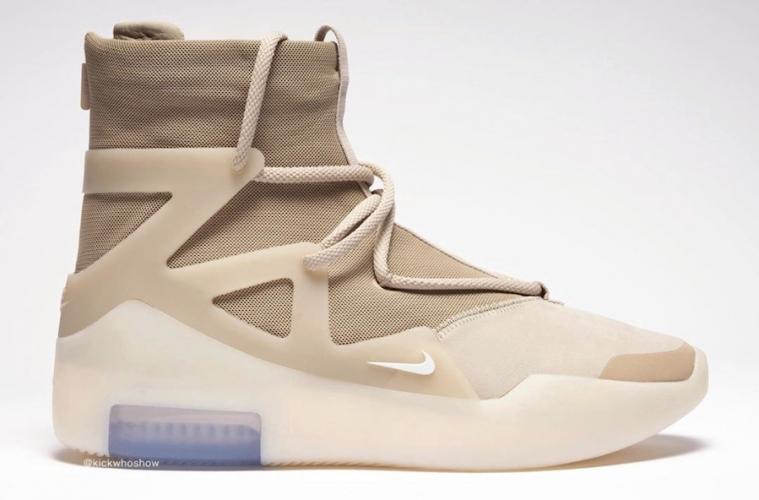 Nike Air Fear of God 1 «Oatmeal» - первый взгляд