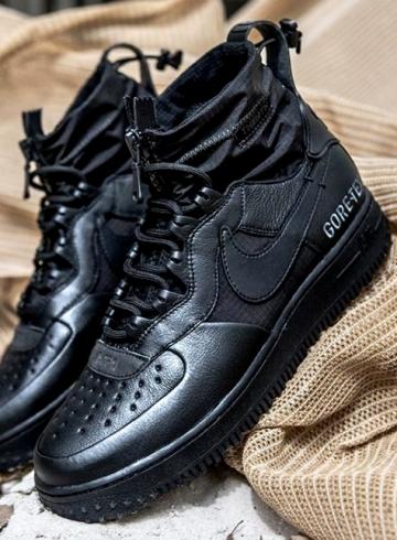 Nike Air Force 1 High Gore-Tex «Triple Black»