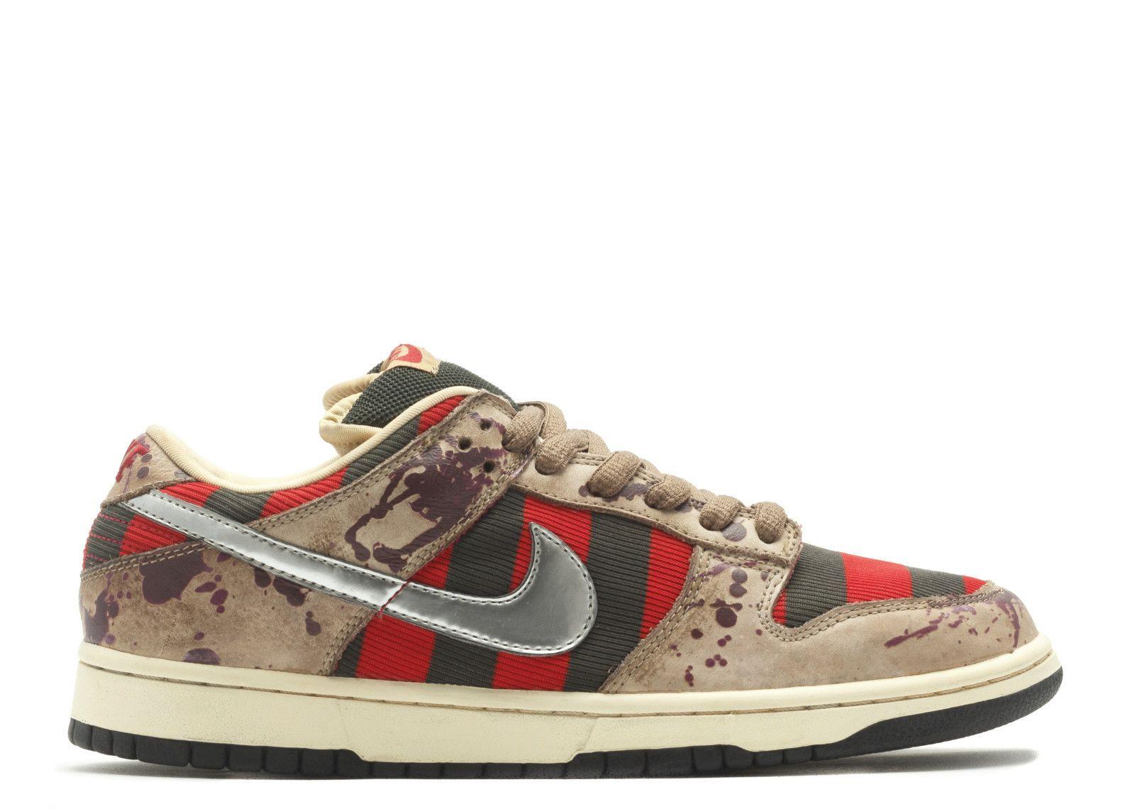Nike SB Dunk freddy krueger фредди крюгер 01 mcmag