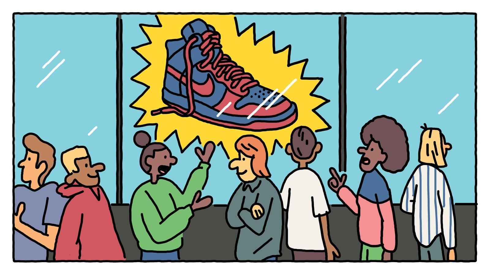 Влияние Nike SB Dunk на реселлинг