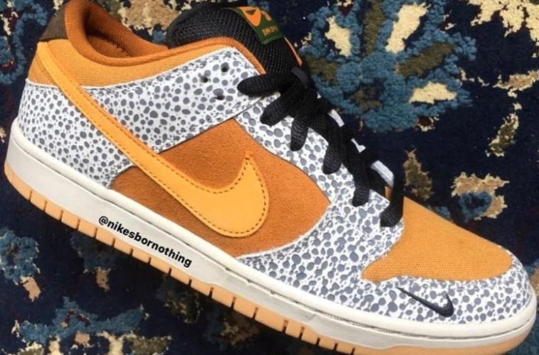 atmos x Nike SB Dunk Low «Safari»