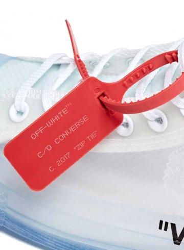 Off-White хочет зарегистрировать zip-tie как товарный знак