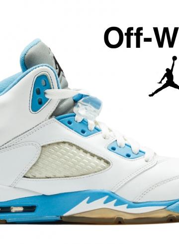 Релиз Off-White x Air Jordan 5 намечен на 2020 год