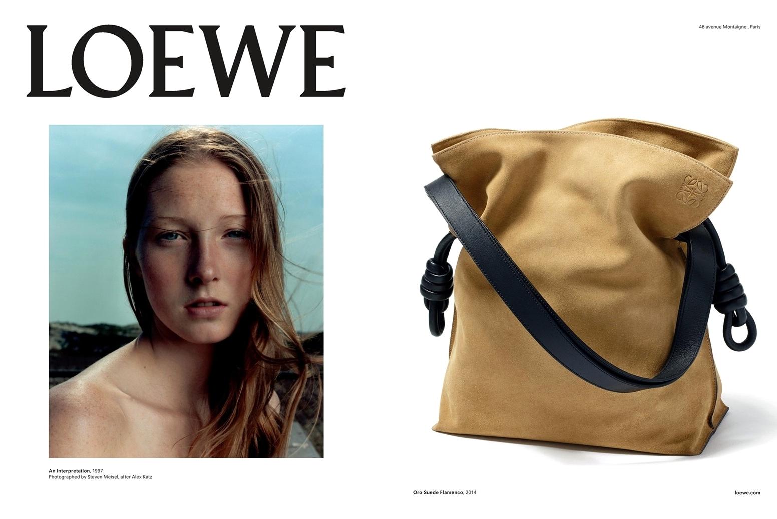 Рекламная кампания Loewe Spring/Summer 2015