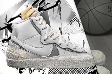 sacai x Nike Blazer Mid - подробности октябрьского релиза