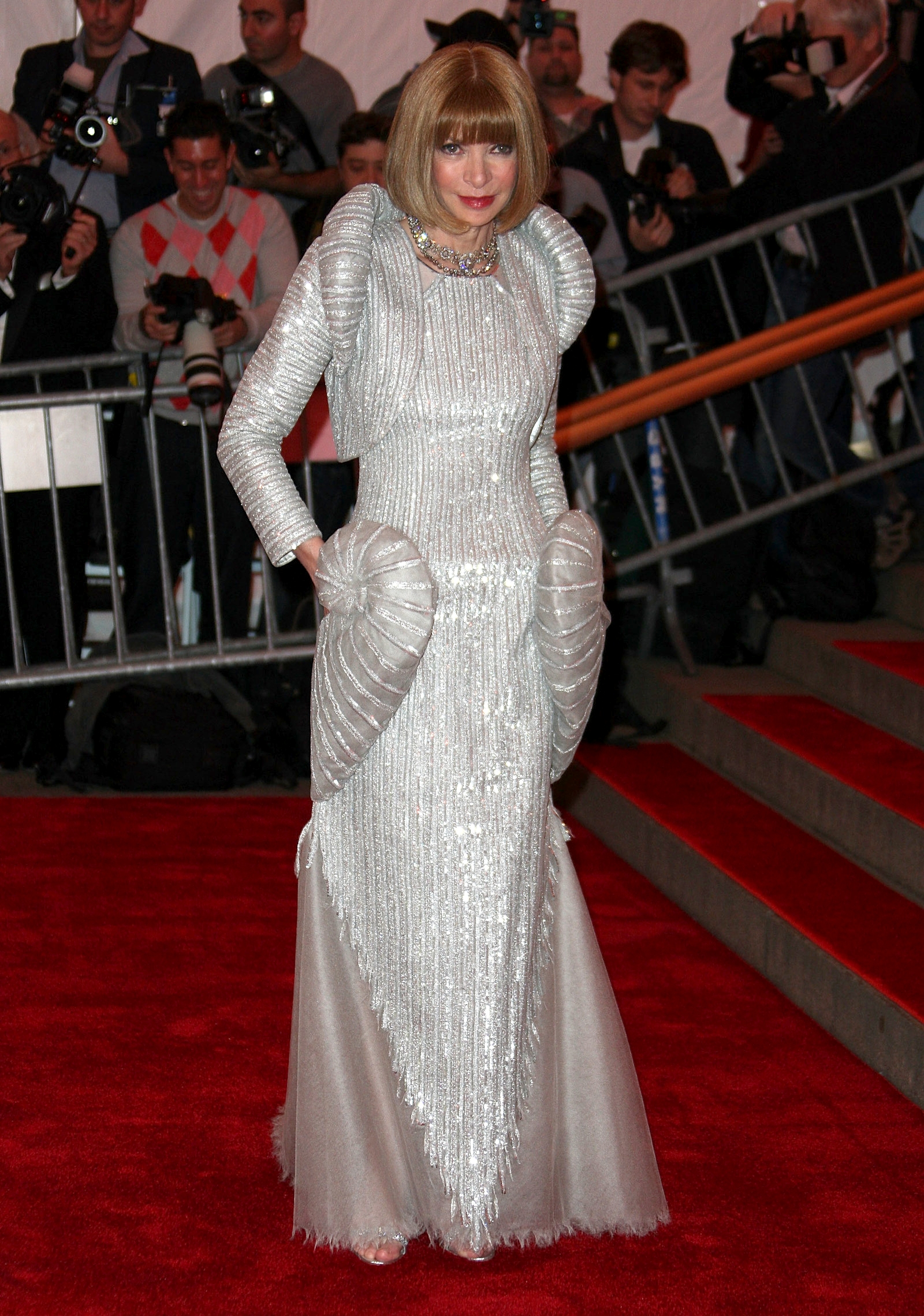 Анна Винтур на Met Gala 2008