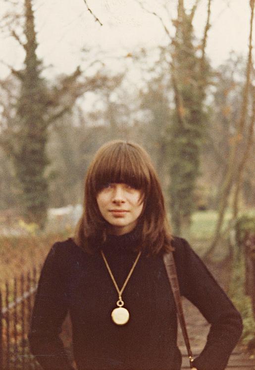 Анна Винтур в конце 60-х