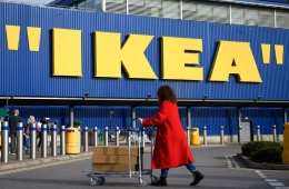 IKEA MARKERAD - логотип украсили кавычками в честь коллекции Вирджила Абло