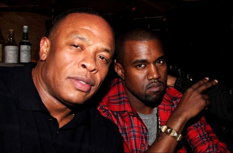 История взаимоотношения Dr.Dre и Канье Уэста