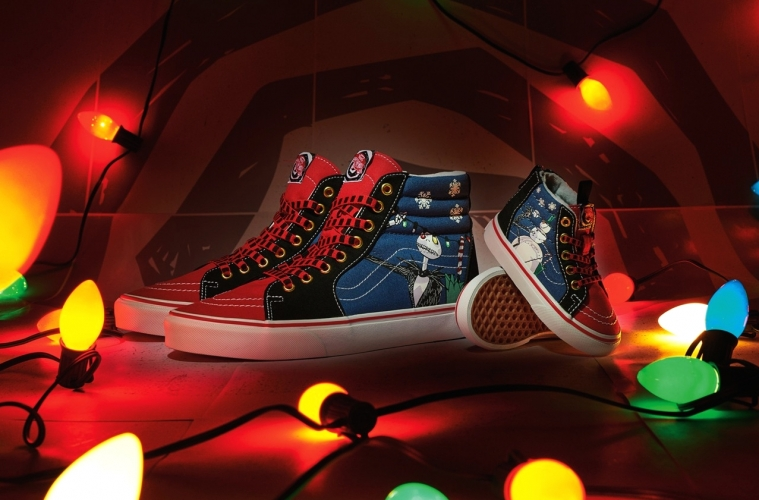 Nightmare Before Christmas x Vans «Christmas Town» - детали релиза