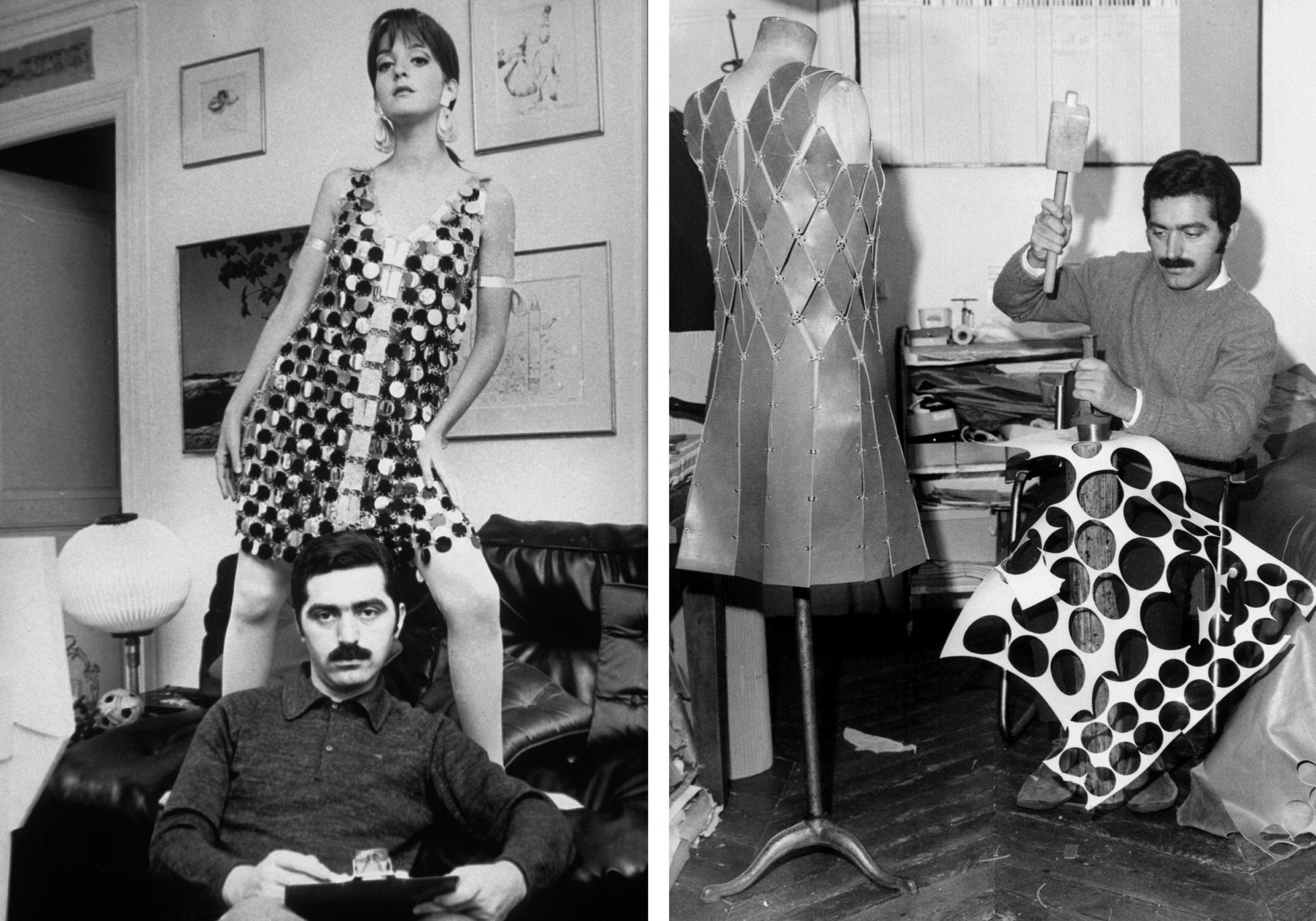 Пако Рабан и его платья-кольчуги