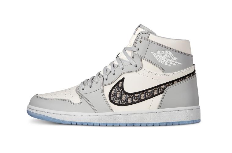 Первый взгляд на Dior x Nike Air Jordan 1