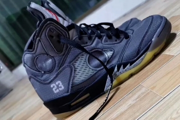 Off-White x Air Jordan 5 выйдут в феврале