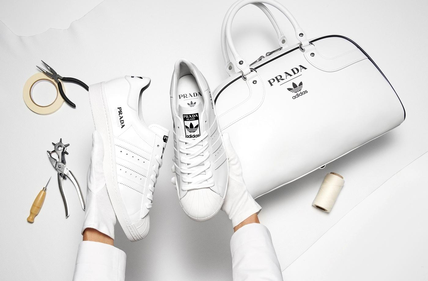 Prada и adidas представили совместные кроссовки