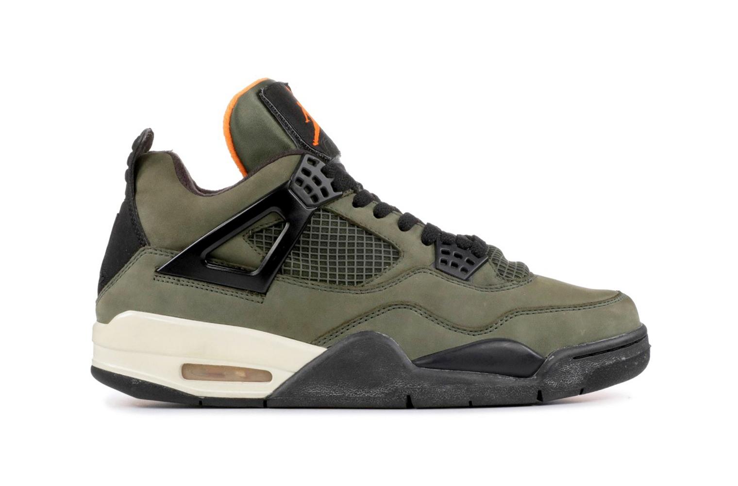 Самые дорогие кроссовки в мире – UNDFTD x Nike Air Jordan 4 Retro (10 место)