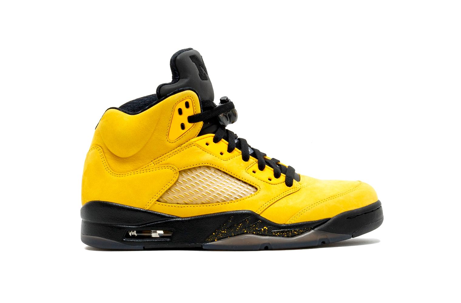 Самые дорогие кроссовки в мире – Nike Air Jordan 5 Retro Michigan Fab Five (9 место)