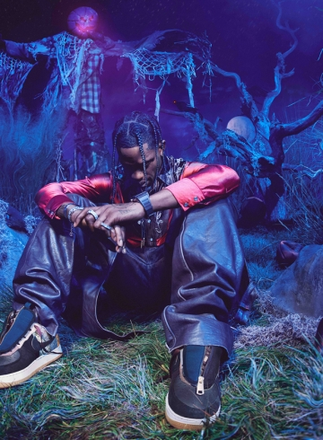 Объявлена дата релиза Travis Scott x Nike Air Force 1 Low «Cactus Jack»