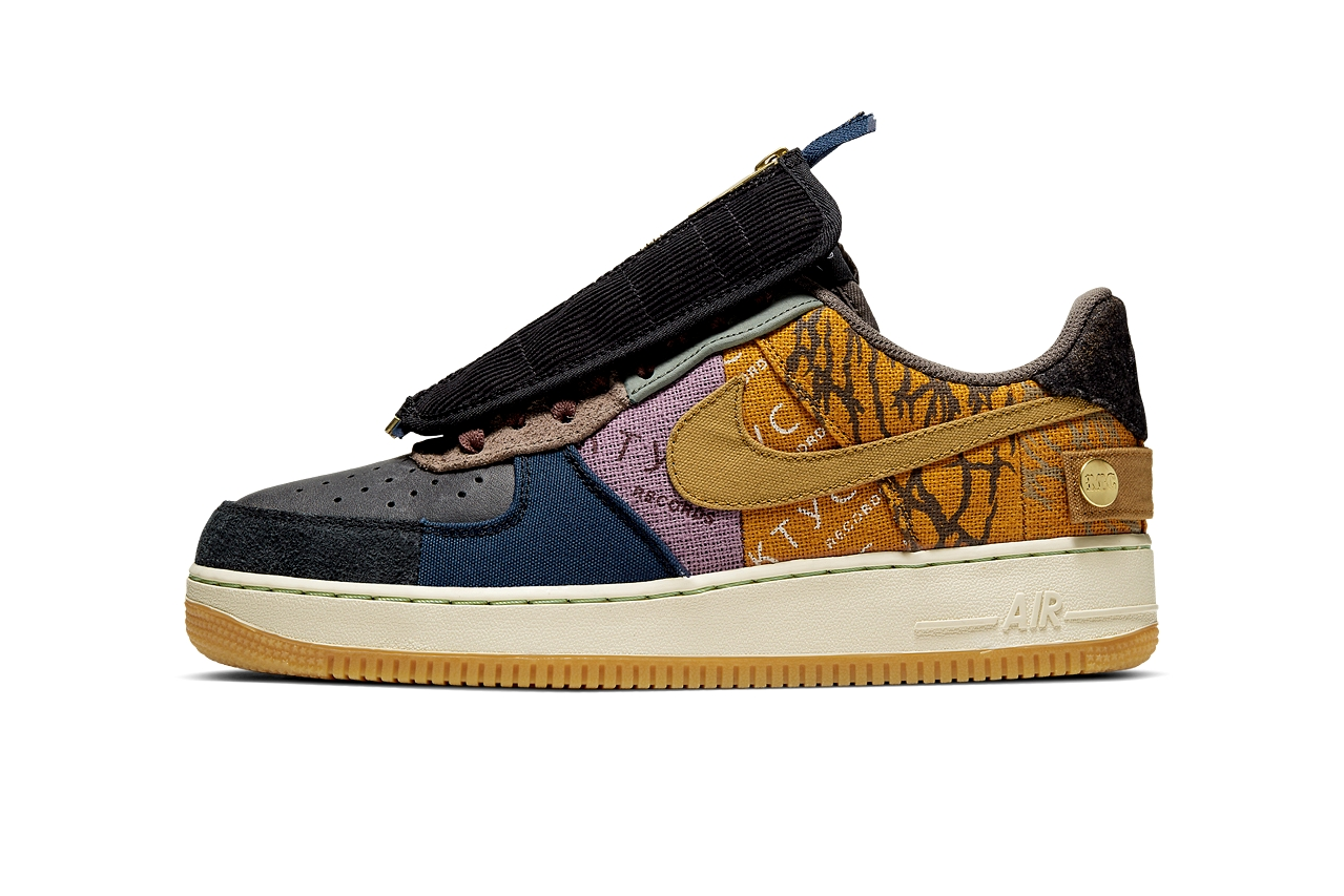 Кроссовки Travis Scott x Nike Air Force 1 Low «Cactus Jack»