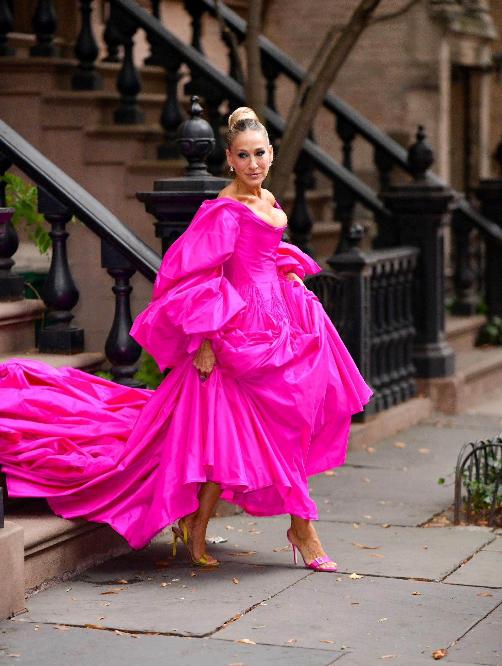 Сара Джессика Паркер в платье Zac Posen