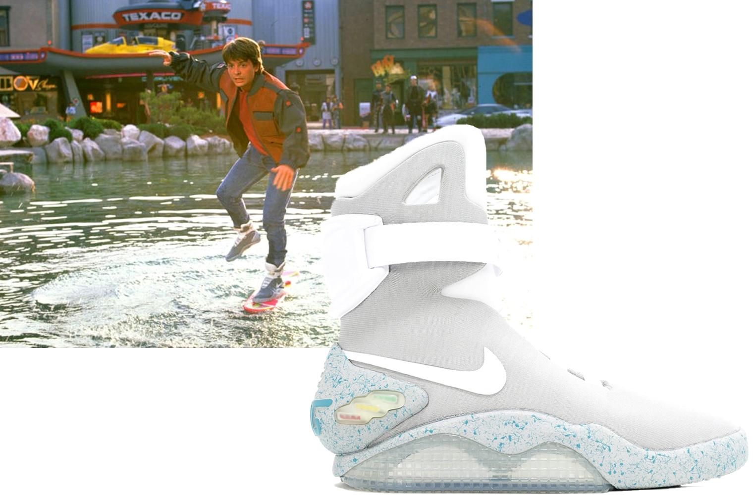 Кроссовки из фильма: Nike MAG в «Назад в будущее 2»