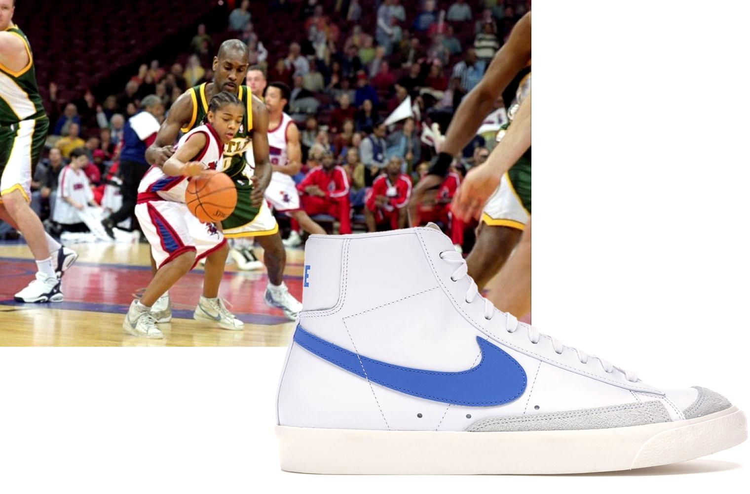 Nike Blazer в фильме «Как Майк» (2002)