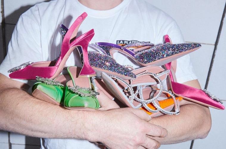 Amina Muaddi — обувь, которую носят Рианна и Кендалл Дженнер