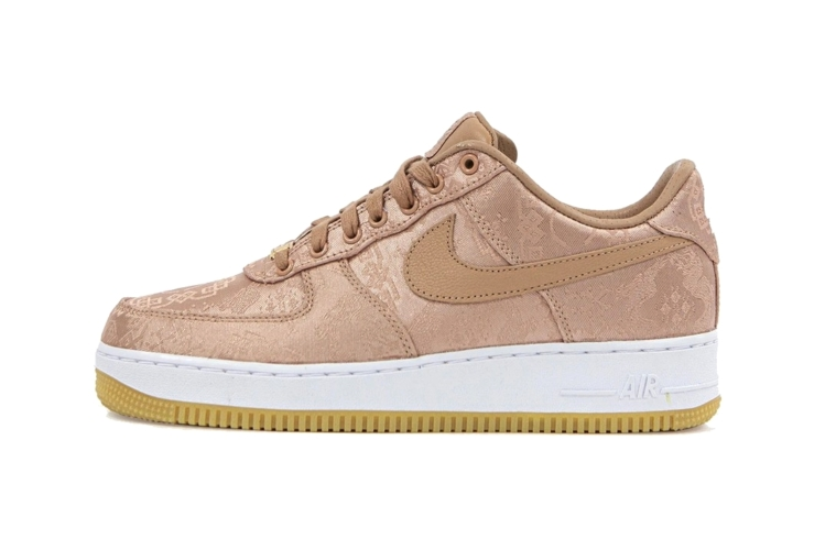 Clot x Nike Air Force 1 Low «Rose Gold Silk» - подробности релиза