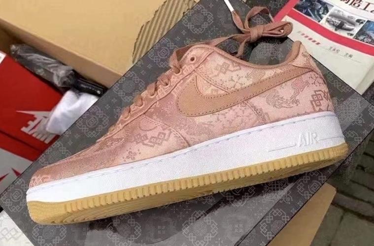 Clot x Nike Air Force 1 Low «Rose Gold Silk» выйдут в январе