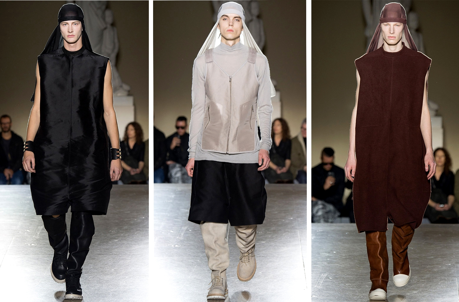 Дюраг в коллекции Rick Owens Fall/Winter 2014 Menswear