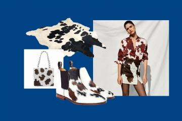 Коровий принт — главный тренд 2019 года