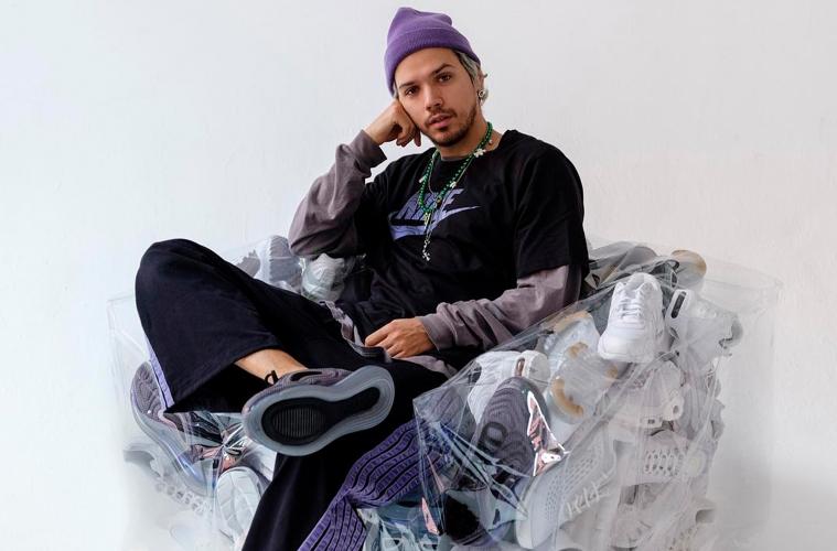 Гарри Нуриев - дизайнер дивана Balenciaga Sofa