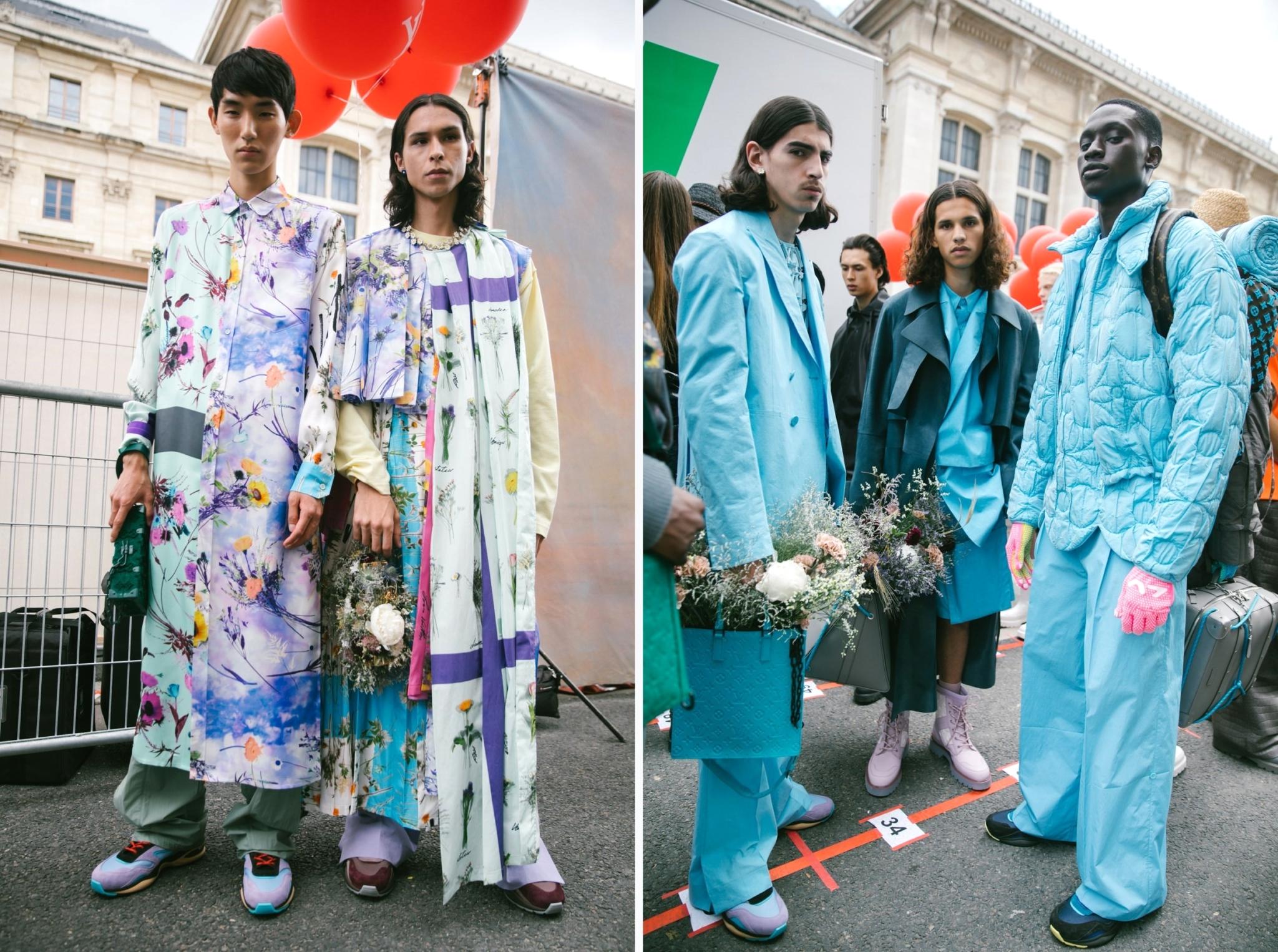 Louis Vuitton SS20 Menswear - за кулисами показа