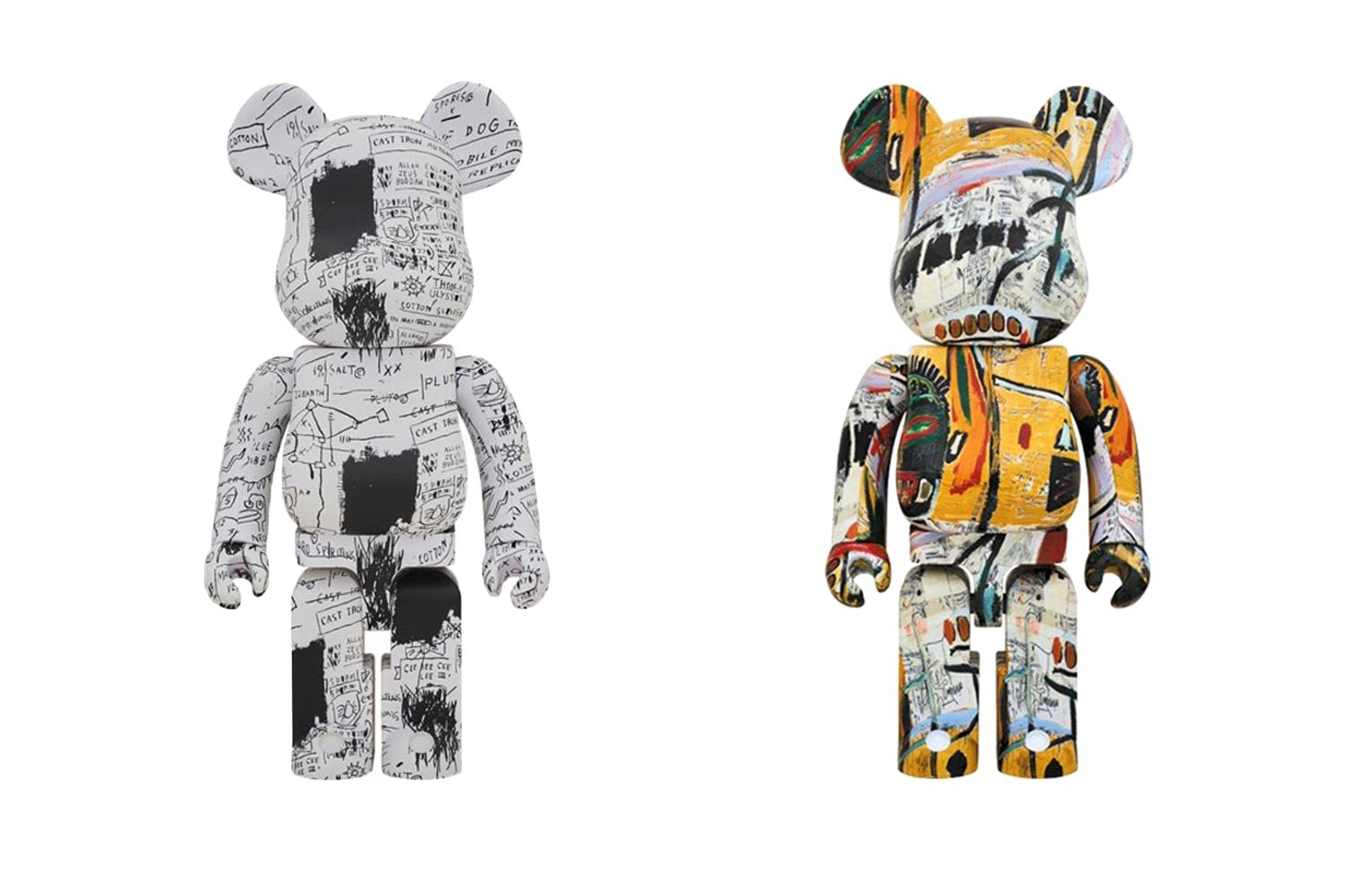 MediCom Toy x Jean-Michel Basquiat BE@RBRICK – все коллаборации художника с модными брендами