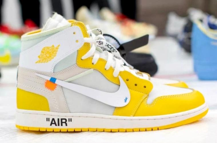 Off-White x Air Jordan 1 «Canary Yellow» - первый взгляд
